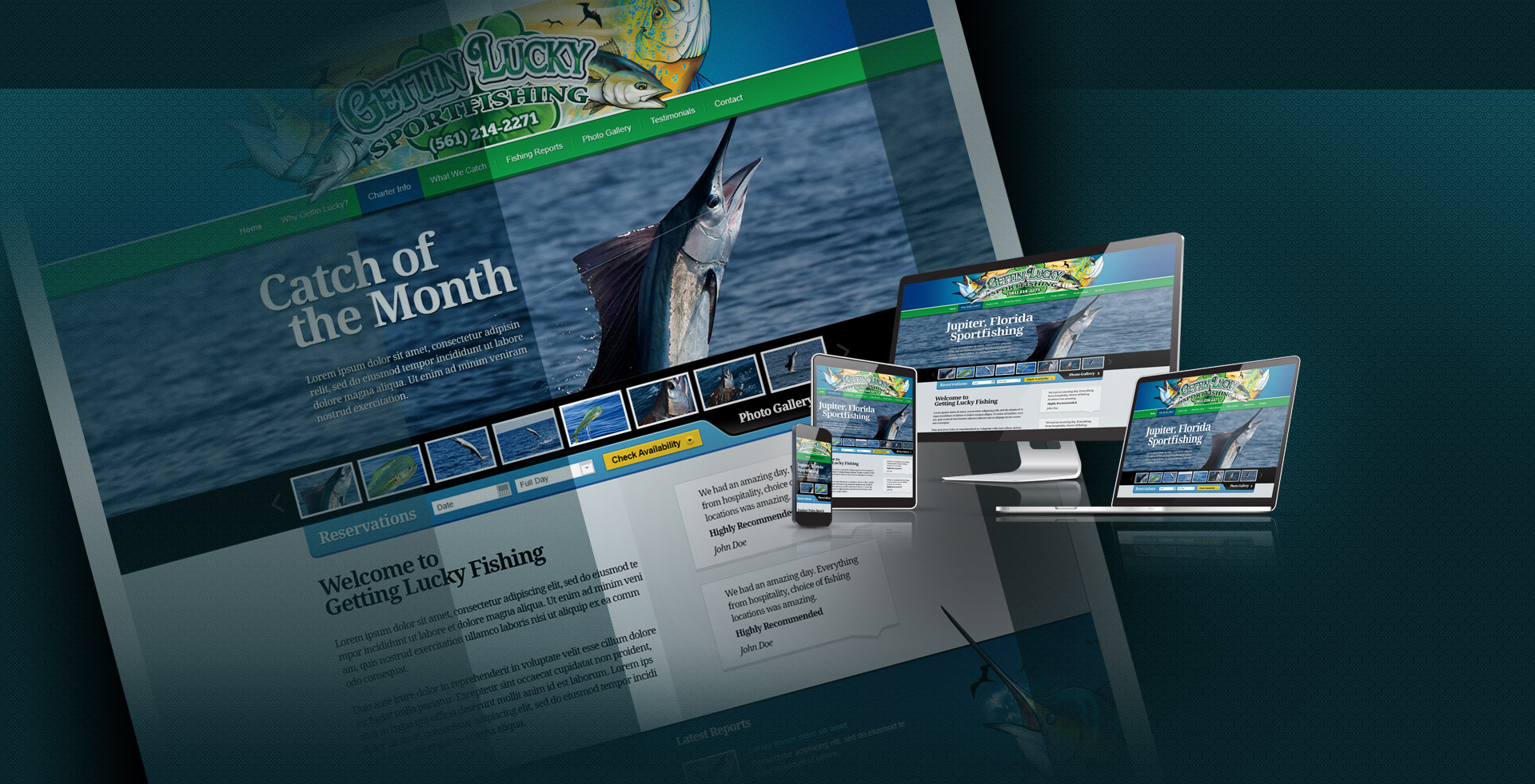 Fishing website design and marketing sfc design group for K muraleedharan sfc group
