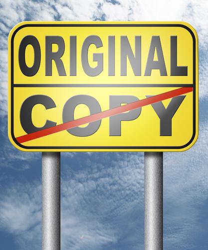 Be Original, Don't Copy.