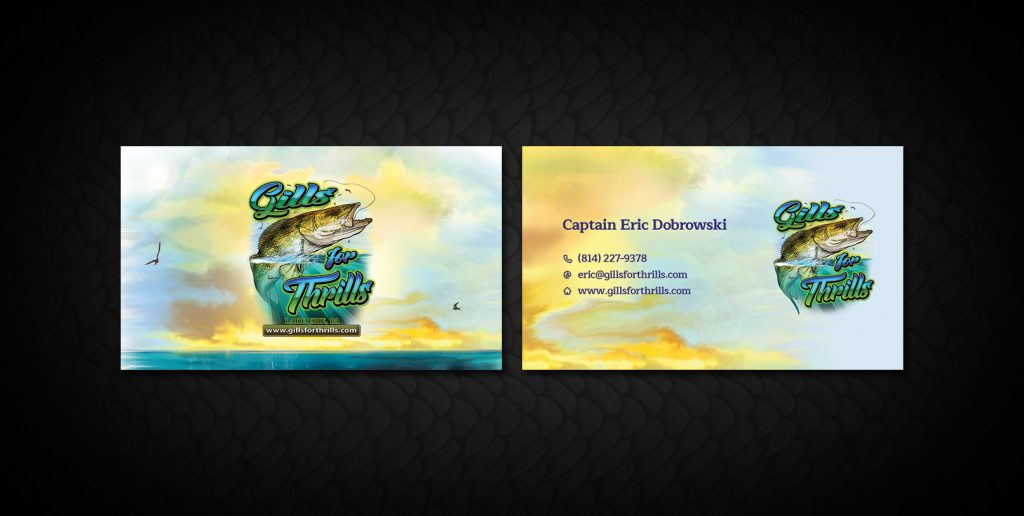 Fishing Guide Business Cards | Arts - Arts